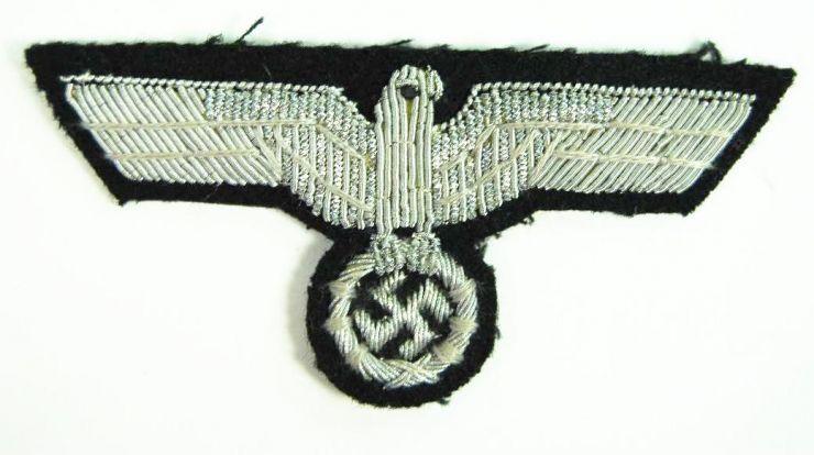 WH/Pz, Emblema Nacional para Gorras de Campaña de Oficial
