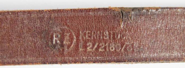 """NSDAP/ Bandolera de Cinturón con """"RZM"""""""