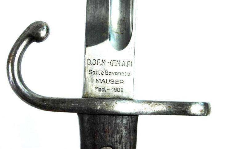 Argentina/ Sable Bayoneta Mauser M1909