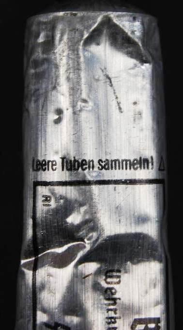 Waffen-SS/ Tubo de Aluminio de Ácido Bórico