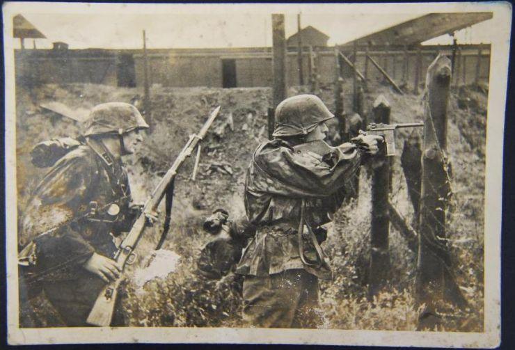 Waffen SS/ Foto Postal Circulada