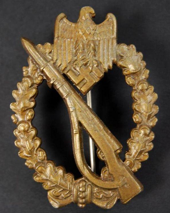 """WH/ Distintivo de Asalto de Infantería en Bronce """"FLL"""""""