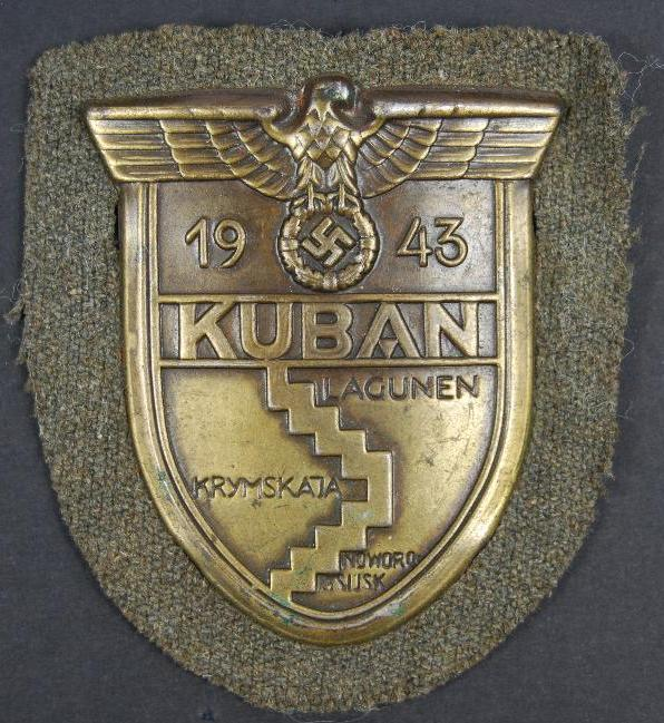 WH/HEER, Distintivo de Brazo del Kuban
