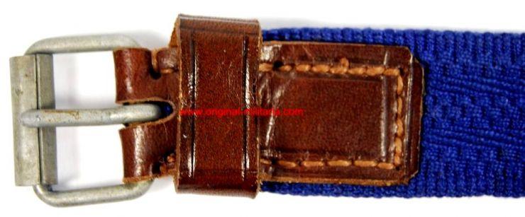 """KM/ Cinturón para la Daga o Sable de Oficial con Manufactura de """"F.W. Asmann & Söhne"""""""