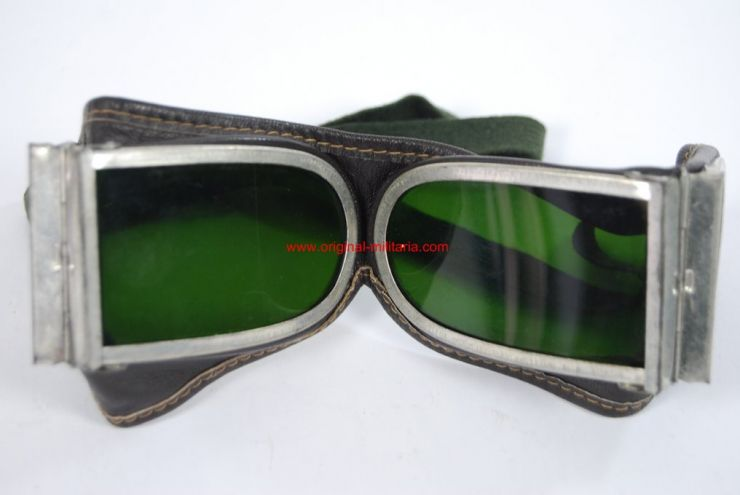 Gafas Soviéticas para Unidades Blindadas y Pilotos de WW2