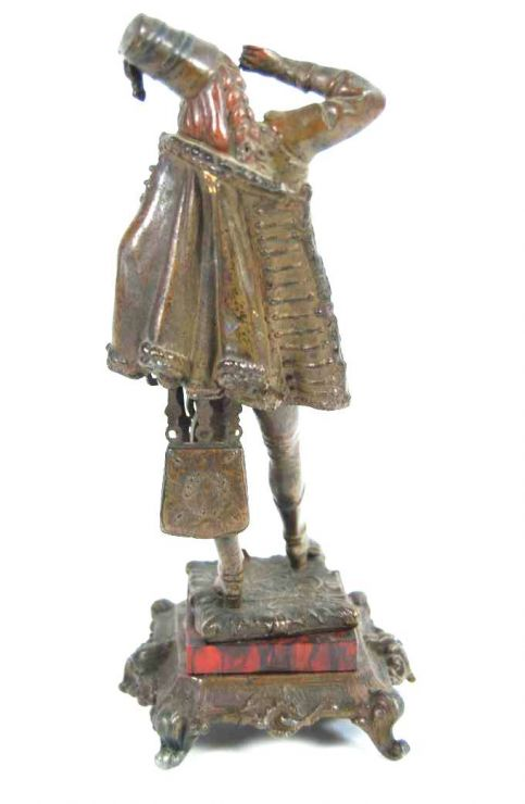 Siglo XIX, Figura de Bronce de un Húsar