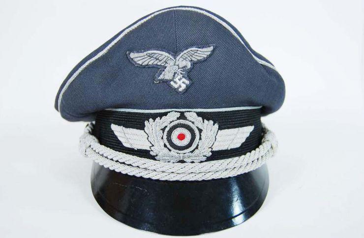 Luftwaffe, Gorra de Plato de Oficial