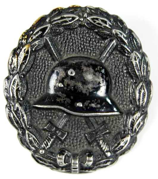 Distintivo de Herido en Negro, 1918