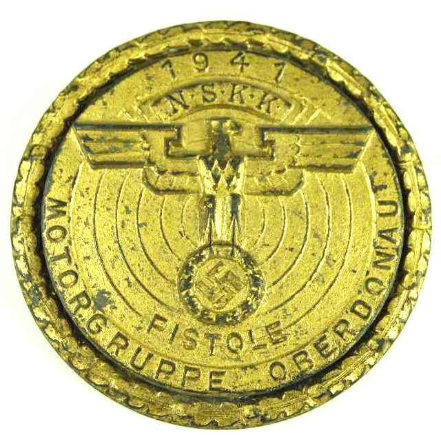 Distintivo de Tirador de Pistola del N.S.K.K.