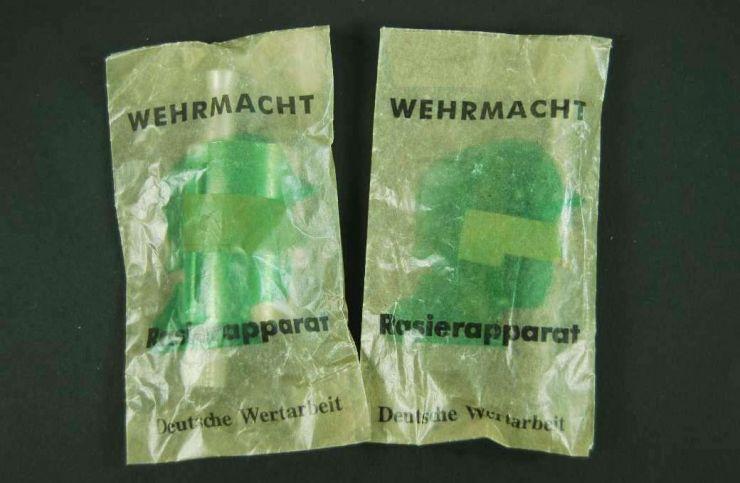 Wehrmacht, Maquinillas de Afeitar de Dotación