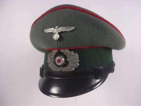 Gorra de Plato de Suboficial de Artillería.