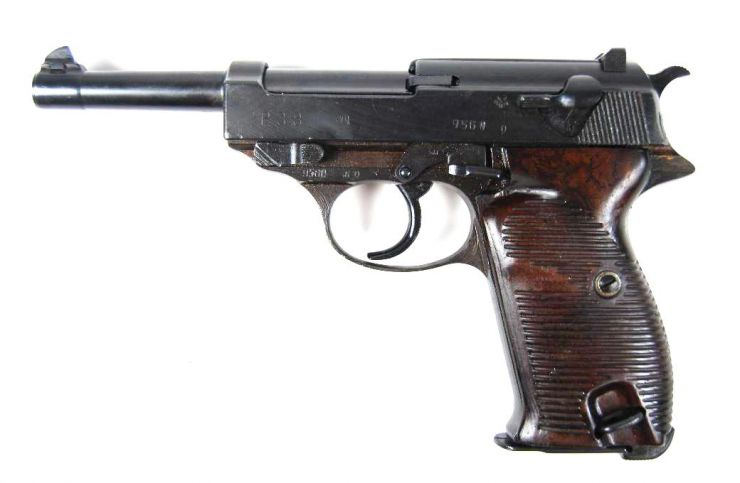 "Walther P38.- Código ""cyq"""