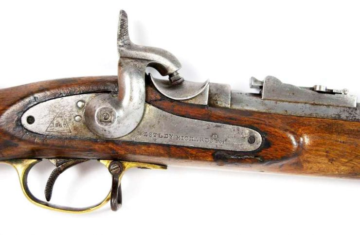 "Fusil Militar de Marina Inglesa Sistema ""Westley Richards & Co"" y ""Whitworth"" de 1867"