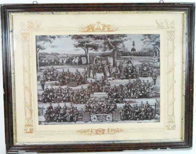 Gran Foto de Promoción 95/97 de Infantería Prusiana