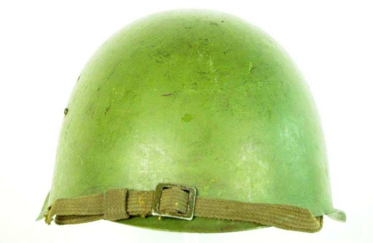 Casco Soviético SSch-M39, 1er Tipo