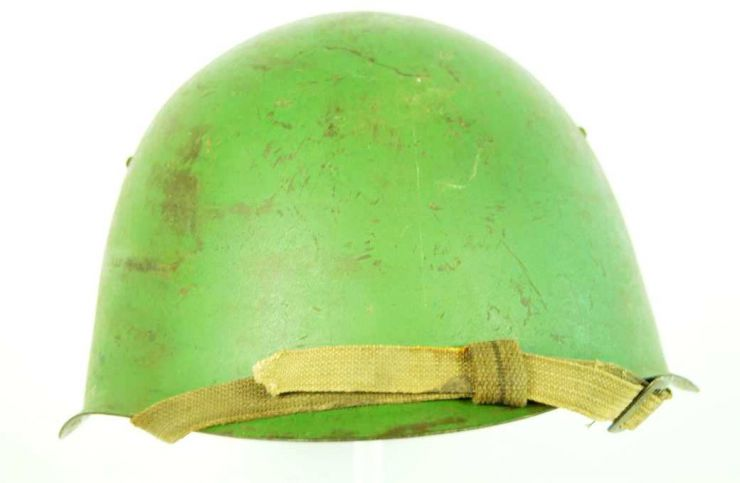 Casco Soviético SSch-M39, 1er Modelo