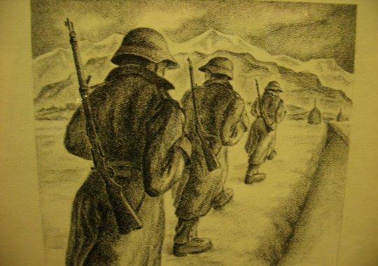 CARBONCILLO ORIGINAL SUIZO WW2