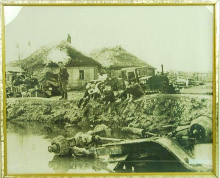 Foto Original de Tropas Alemanas en el Frente del Este