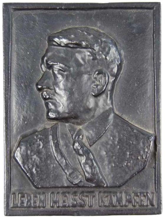 Placa de Hierro de Adolf Hitler
