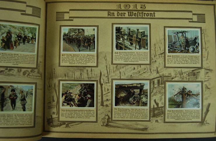 """Álbum de Cromos """"La Guerra Mundial"""""""