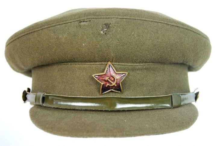 """Gorra de Plato """"Lenin"""" para Oficiales y Suboficiales"""