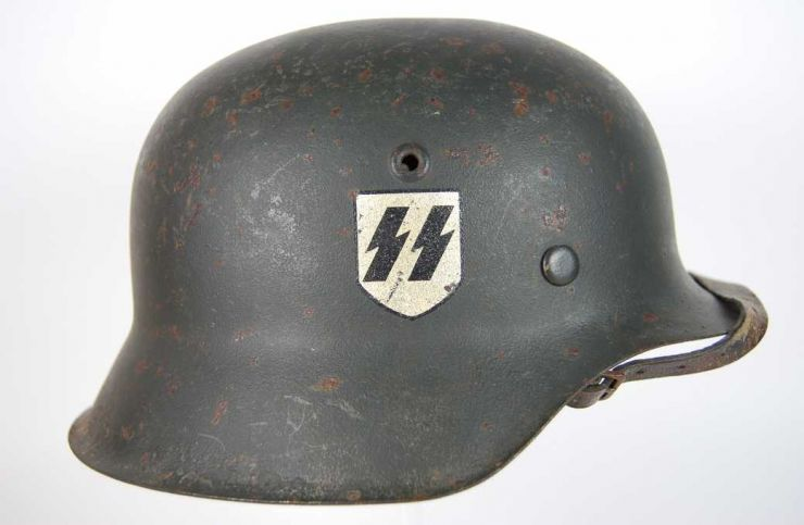Waffen SS, Casco M42/43