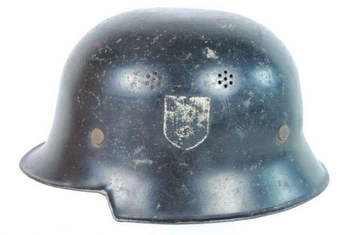 Casco M34 Temprano para la Feuerschutzpolizei