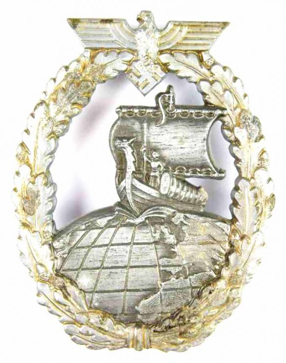 Kriegsmarine, Distintivo de Cruceros Auxiliares.