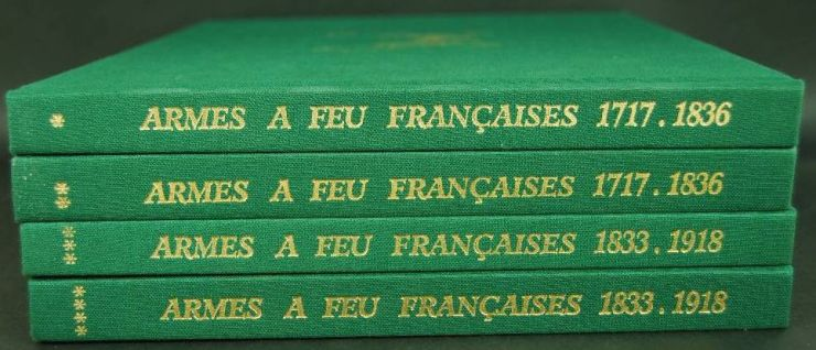 "Colección Completa de ""Armes a Feu Francaises 1717-1918"""