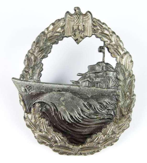 Kriegsmarine, Distintivo de Guerra de Destructores.