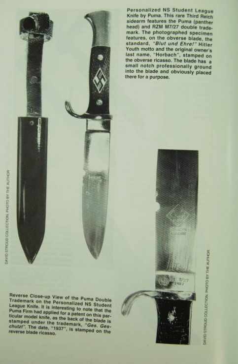 NSDStB/ Cuchillo de Estudiantes