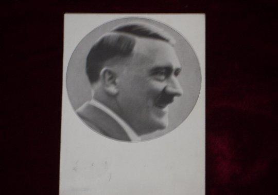 Tarjeta Postal de Adolf Hitler