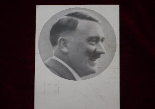 Tarjeta postal de Adolf Hitler.