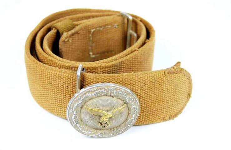 DAK, Cinturón Completo de Oficial de Luftwaffe