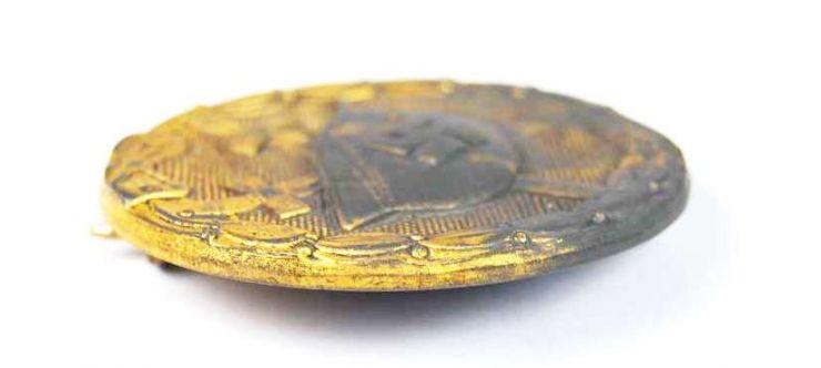 """Distintivo de Herido Categoría Oro """"127"""""""
