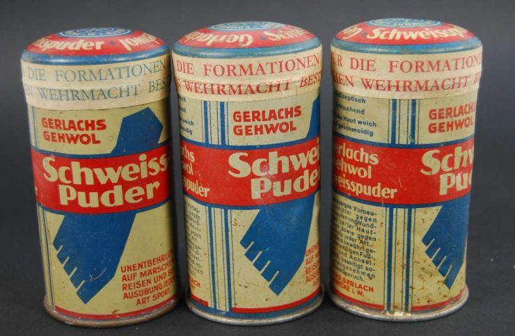 Wehrmacht, Dispensador de Polvos para los Pies