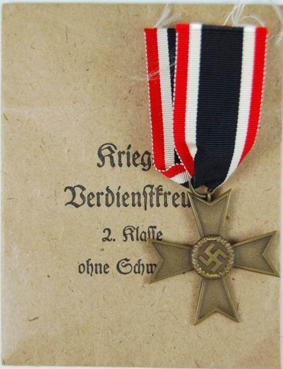 Cruz Merito Guerra 2ª Clase sin Espadas