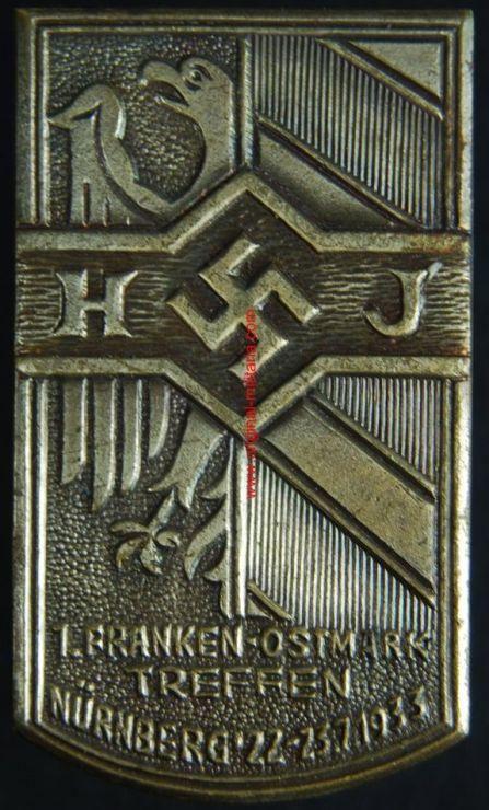 """HJ/ Insignia """"Franken Ostmark"""""""