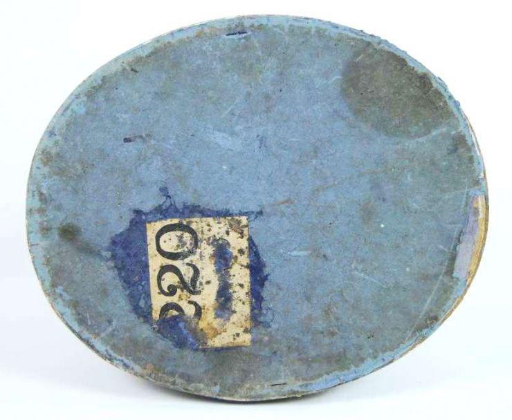 Pickelhaube M1895-1918 de Oficial de Policía en su Caja