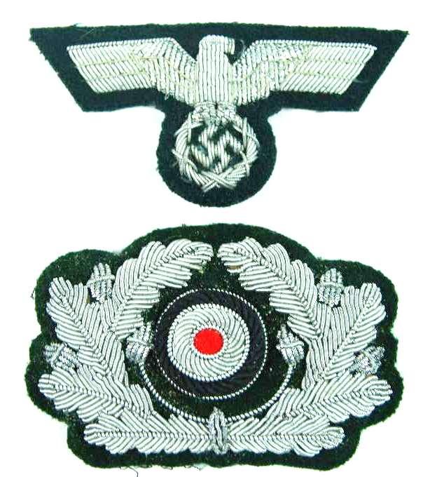 Wehrmacht, Conjunto de Águila y Cucarda