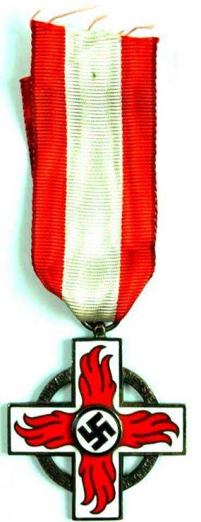 Medalla 2º Clase de Bomberos