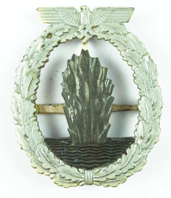 Kriegsmarine, Distintivo de Dragaminas