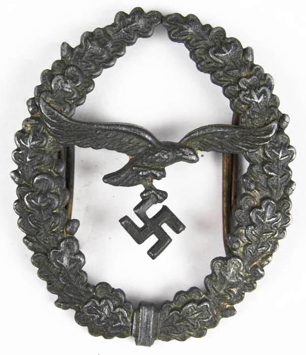 Luftwaffe, Insignia del 2º Modelo para Cordón de Tirador