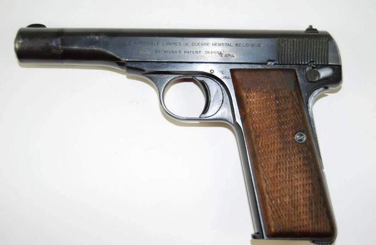 Pistola FN, M1922 de oficial de la Luftwaffe