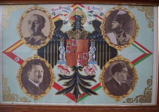 Cartel de Propaganda Nacionalista Original de Guerra Civil
