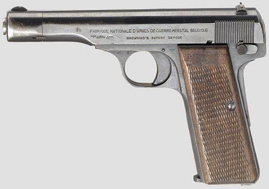 Pistola FN, M1922 de oficial de la Luftwaffe. .