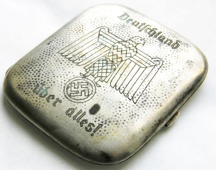 "NSDAP/ Pitillera de Plata ""800"""