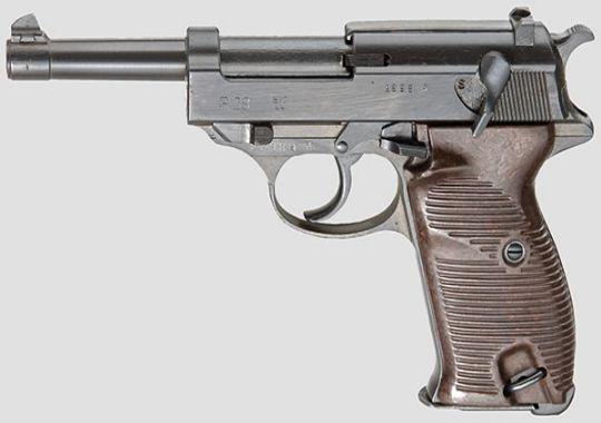 """Mauser P38.- Código """"bif 44"""""""