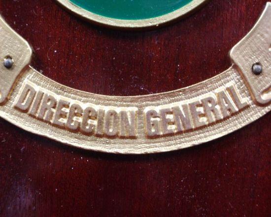 Metopa de la Dirección de la Guardia Civil.