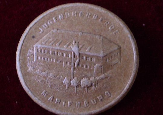 Distintivo del Albergue para Jóvenes de las HJ en Marienburg